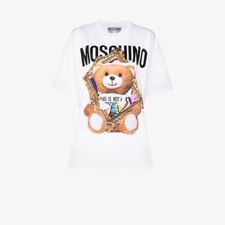 Moschino teddy bear logo cotton T-shirt