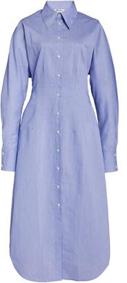 Acne Studios Danete Cotton-Blend Shirt Dress