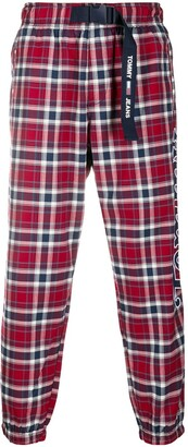 Tommy Jeans Tapered Plaid Trousers