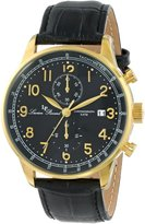 Lucien Piccard Men's LP-10503-YG-01-BK Montilla Analog Display Japanese Quartz Watch