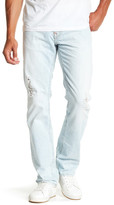 True Religion Light Wash Flap Pocket Straight Jean