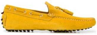 Kiton Tassel Detail Flat Loafers