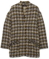 Isabel Marant Jamsy Wool-blend Tweed Jacket - Beige