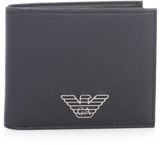 Emporio Armani Leather Gift Box Wallet And Card Holder