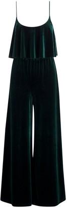HOLZWEILER Green Velvet Jumpsuits