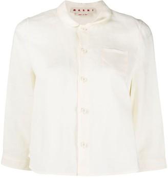 Marni Three-Quarter Length Sleeve Shirt