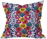DENY Designs Juliana Curi Klein Flower Throw Pillow