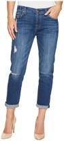 7 For All Mankind Josefina w/ Destroy in Barrier Reef Broken Twill Women's Jeans