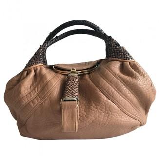 Fendi Spy Pink Leather Handbags