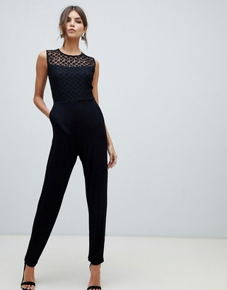French Connection fitted jumpsuit-Black