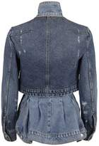 Alexander McQueen Layered Denim Jacket