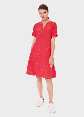 Hobbs Jayde Floral Fit And Flare Dress