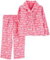 CARTERS Carter's 2-Pc. Pajama Set - Toddler Girls