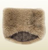 Gucci Fox Fur Ring Scarf