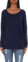 The Kooples Scoop neck cashmere jumper
