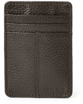 Cole Haan Leather Front Pocket Clip Wallet