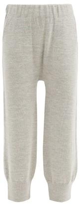 LAUREN MANOOGIAN Straight-leg Alpaca-blend Track Pants - Light Grey