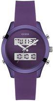 GUESS Purple Digital Analog Watch