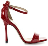Marc Ellis Red Patent Leather Sandals