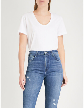 J Brand Fashion Johnny cotton-jersey T-shirt