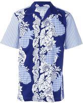 Comme des Garcons mixed print shirt