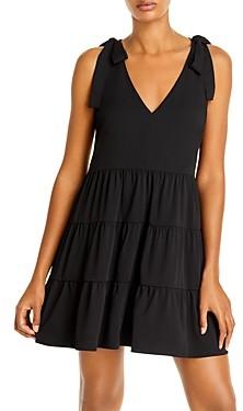 Aqua Tiered Mini Dress - 100% Exclusive