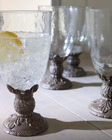 GG Collection G G Collection Glassware with Cast Aluminum Stems
