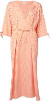 Maison Rabih Kayrouz striped midi dress - women - Cotton - 36
