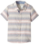 Quiksilver Aventail Short Sleeve Shirt Boy's Short Sleeve Button Up