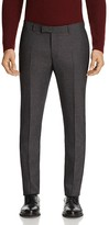 Sandro Notch Micro Check Slim Fit Pants - 100% Bloomingdale's Exclusive