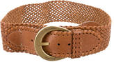 Mulberry Woven Leather Belt