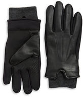 Black Brown 1826 Leather Gloves