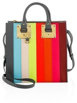 Sophie Hulme Albion Square Rainbow Leather Tote