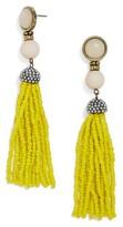 BaubleBar Women's 'Artemis' Beaded Tassel Drop Earrings