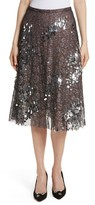 Tracy Reese Women's Sequin Flared Skirt