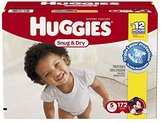 Huggies Snug & Dry Diapers, Size 5, 172 Count (One Month Supply) by
