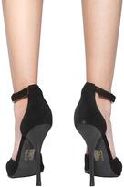 Jeffrey Campbell Koons Shoe in Black Suede