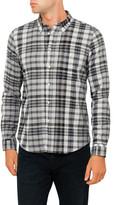 Paul Smith Check Cotton Linen Tailored Shirt