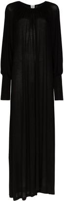 Totême Anville maxi dress