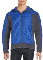 Saks Fifth Avenue Quilted Hooded Jacket