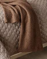 Ann Gish Boucle Throw, Taupe