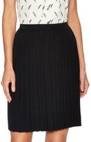 Carolina Herrera Wool Pleated Skirt