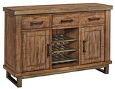 Signature Design by Ashley Ashley Furniture Signature Design - Dondie Dining Room Server - Contemporary Solid Pine Wood Desing - Warm Brown