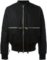 Stampd Time & 1 World bomber jacket - men - Cotton/Nylon/Polyester/Wool - L