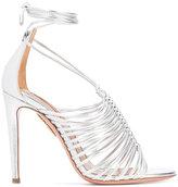 Aquazzura lace-up sandals - women - Leather - 35