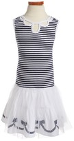 Kate Mack Toddler Girl's Regatta Rose Stripe Dress