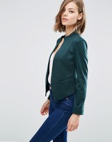 Asos Edge to Edge Ponte Blazer with Pocket