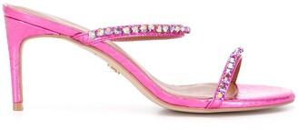 Kurt Geiger 85mm Crystal-Embellished Sandals