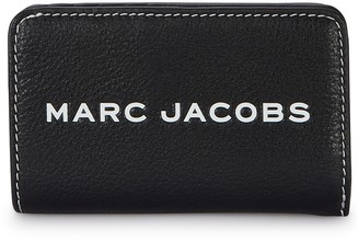 Marc Jacobs Black grained leather wallet