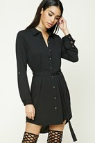 Forever 21 Belted Shirt Dress